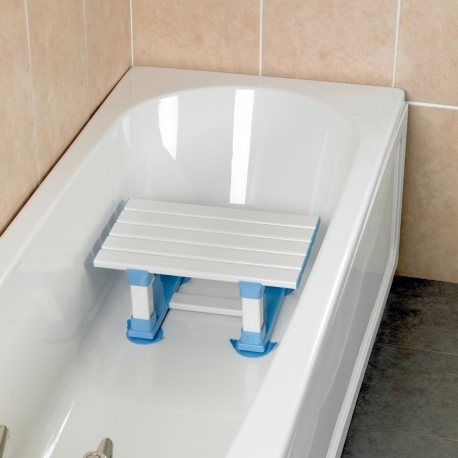 Siège de bain à lattes 30,5cm