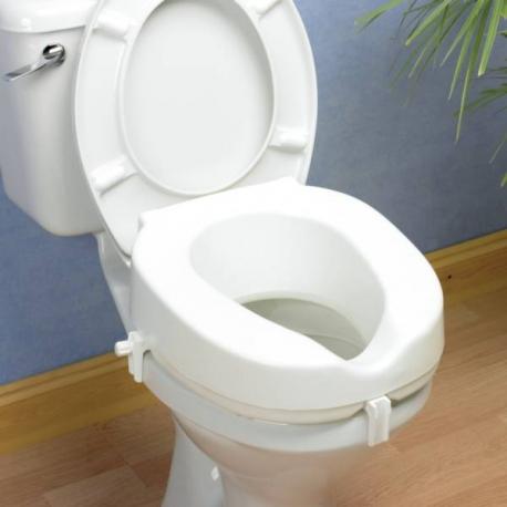 Siège de toilettes Taunton hauteur 15cm