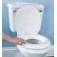 Siège de toilettes doux