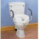 Siège de toilettes avec accoudoirs