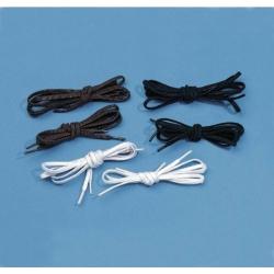 Lacets élastiques Noirs (x2 paires)