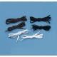 Lacets élastiques Blancs (x3 paires)