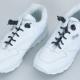 Lacets de chaussures enroulés Marron (la paire)