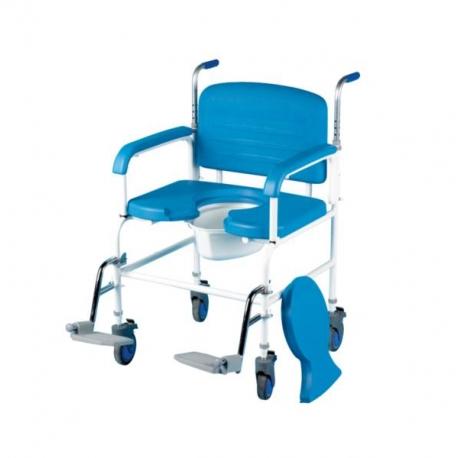 Chaise percée à roulettes XXL max 254kg