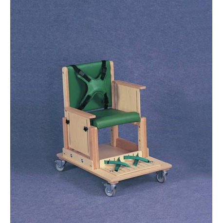 Chaise Heathfield repose-pieds avec sangle T2