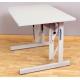 Table Vario rectangle 72-122 100x70