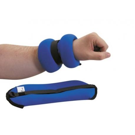 Poids pour poignet Bleu 2,5kg