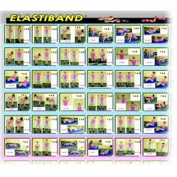 Poster d'exercices Elastiband
