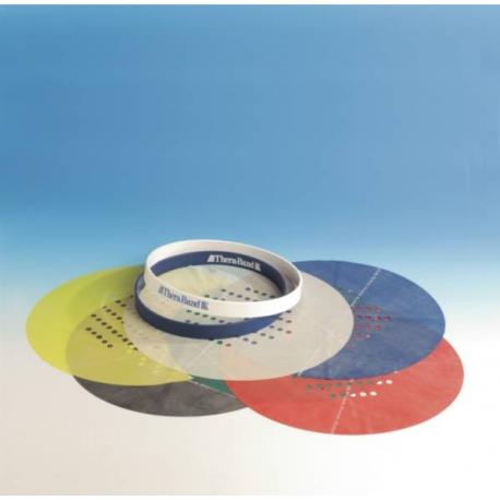 Progressive Handtrainer Thera-Band Kit Les 6 bandes de remplacement Bleu