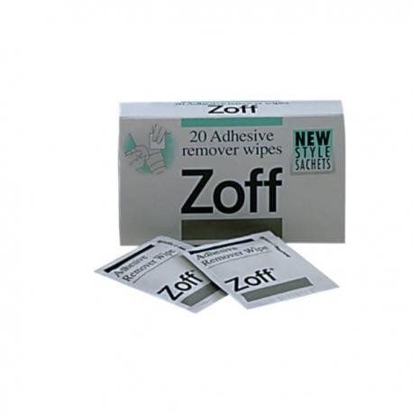 Lingettes pour enlever les résidus d'adhésif – Zoff