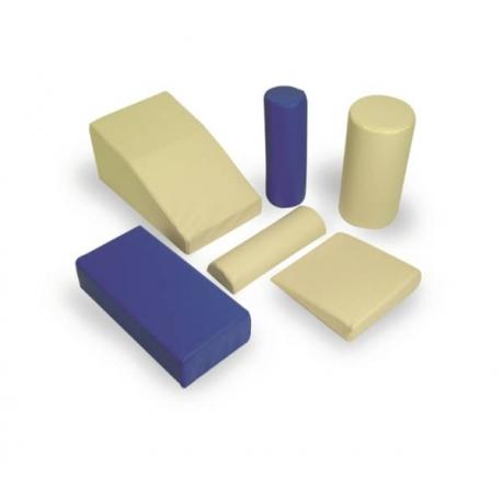 Coussin rectangulaire 60x30x15cm Bleu