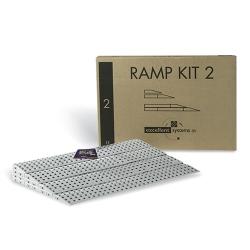 Ramp Kit 0.5 intérieur. franchissement 1,8 cm
