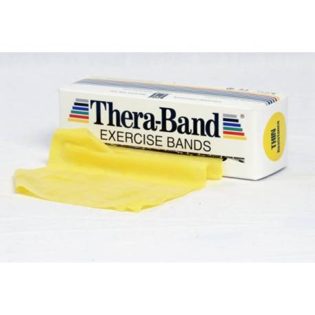 Distributeur avec rouleau d'exercice de résistance Thera-Band® 5,5ml Jaune