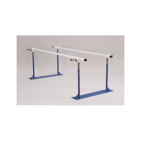 Barres parallèles ajustables en largeur et hauteur