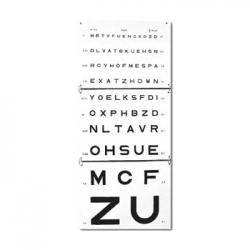 Echelles optométriques murales