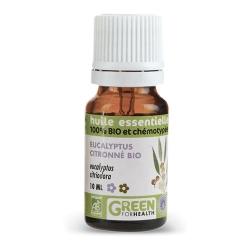 Huiles essentielles eucalyptus citroné bio - 100% bio chémotypées