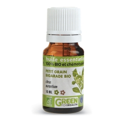 Huiles essentielles petit grain bigarade bio -100% bio chémotypées