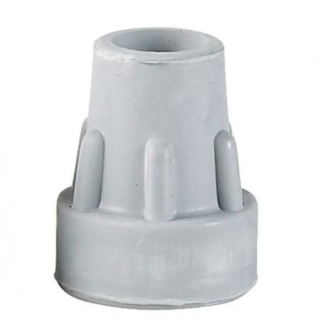 Embout gris 16 mm- caoutchouc très solide en forme de cloche