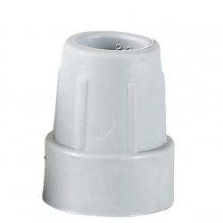 Embout gris 25 mm-en PVC l'unité