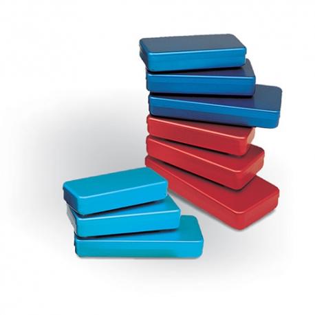 Boîte aluminium couleur 21 x 10 x 3 cm