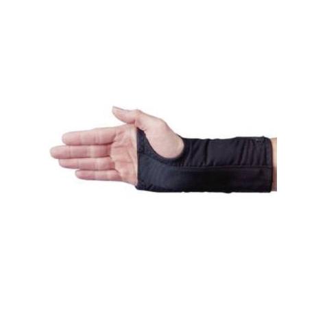 Attelle de poignet D-Ring Noir Gauche M