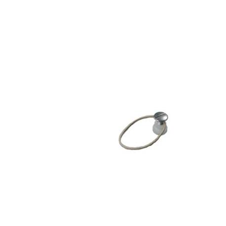 Pitons pour élastiques en caoutchouc (x10)