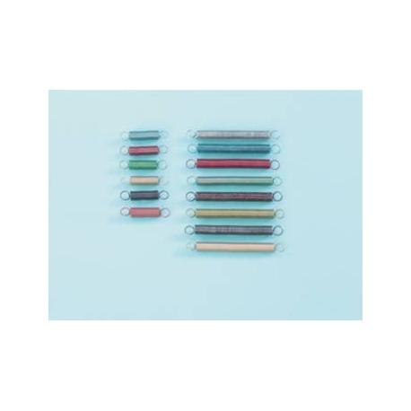 Ressorts gradués 2,5cm Bleu fonçé (x5)