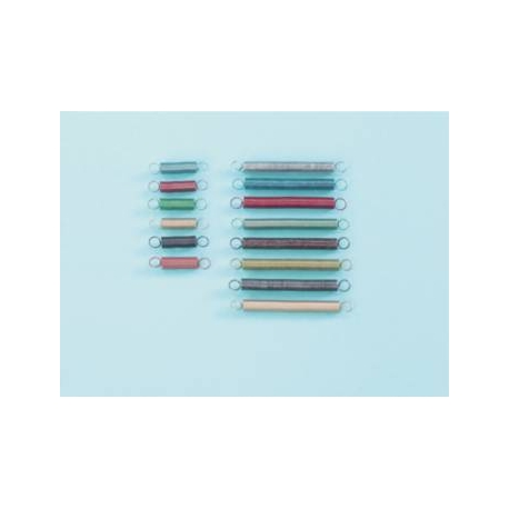 Ressorts gradués 5cm Bleu fonçé (x5)