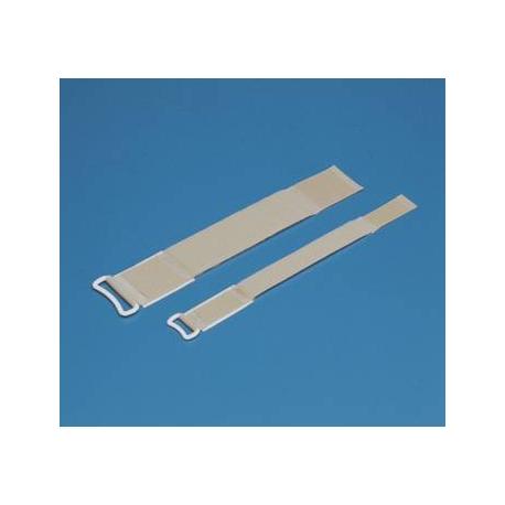 Sangle adhésive Securable en D 5x38cm (x10)