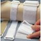 Sangles auto-adhésives à boucles en D 2,5x30cm (x10)