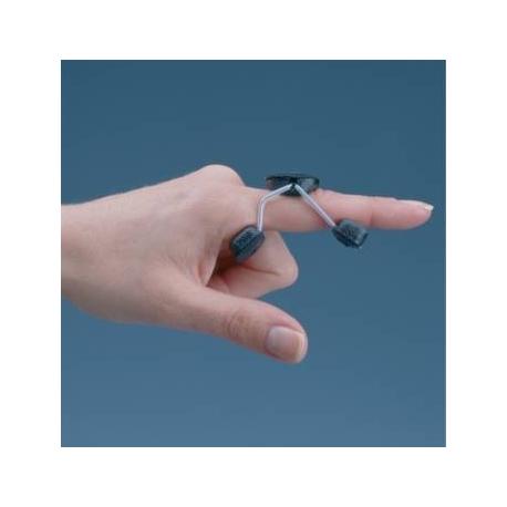 Orthèse d'extension courte de doigt Sof•Stretch Noir M