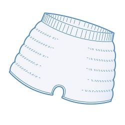 Panties XXL iD Expert Fix Comfort Super X5