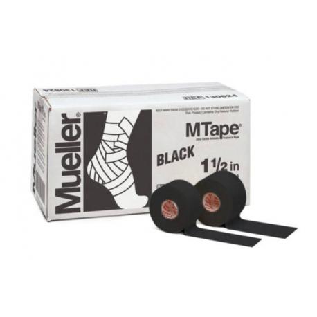 Bande MTape® Team noir 3,8cmx9,1m