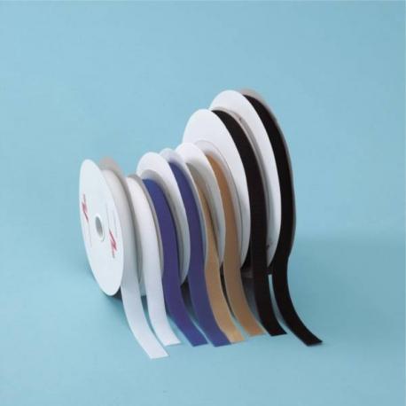 Ruban auto-adhésif Velcro 25mmx25m boucles Noir