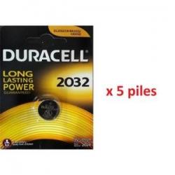 Piles Lithium 3 V, CR2032 GP Duracell®