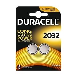 2 Piles lithium 3 V, CR2032 - GP Duracell®