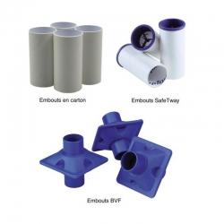 Spiromètre analyseur Alpha Embouts à usage unique, diam. : 22 mm. Les 160 pièces