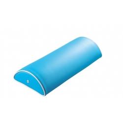 Coussin demi-cylindre 10 : L. 50 x l. 20 x H. 10 cm.