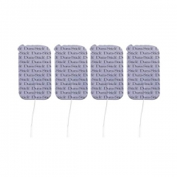 Electrodes Dura Stick Plus rectangulaires 50 x 90 mm x 4