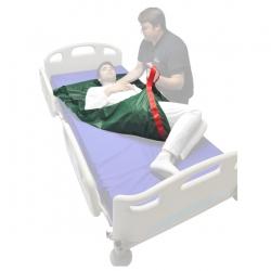 Drap de glisse avec poignées 195 x 70 cm