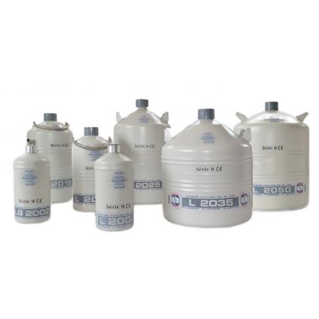 Stockage et transport d'azote liquide en petite quantité
