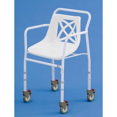Chaises Harrogate Hauteur réglable 48,5-66cm à roulettes