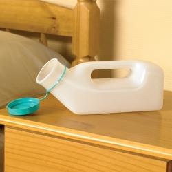 Urinal-homme conditionnement sachet plastique