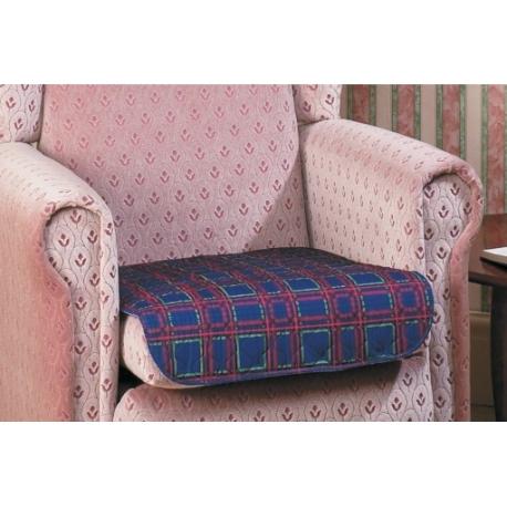 Protection de siège réutilisable écossais