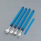 Petite cuillère flexible revêtement Plastisol bleu