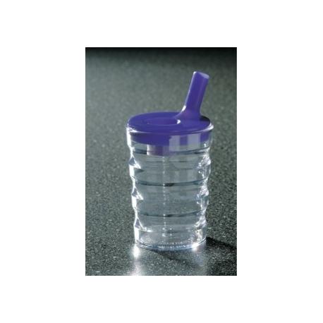 Tasse avec couvercle régulateur de température
