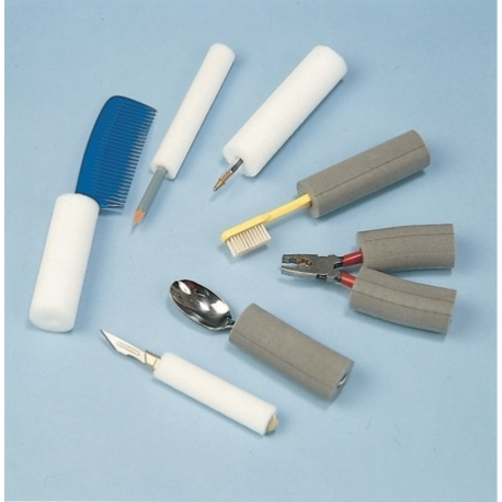 Tube Plastazote 1mx31x9mm Blanc