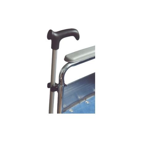 Clip canne fixation fauteuil