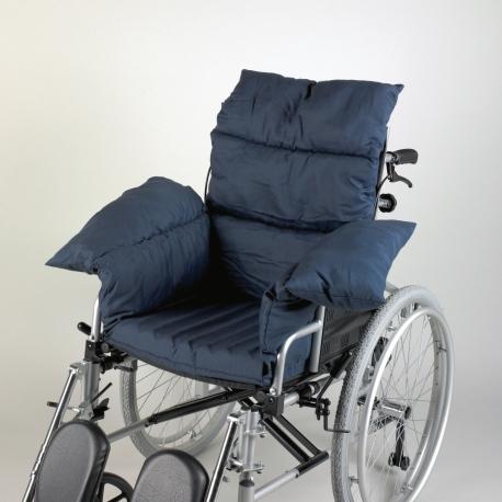 Coussin rembourré pour fauteuil roulant