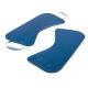 Planche de glisse Duo avec poignées bleue
